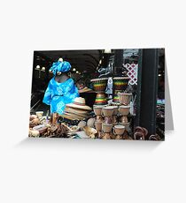 French Market New Orleans  Greeting Card