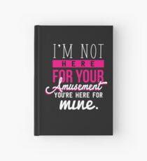 Power Women Girl Feminist Amusement Female Gift Hardcover Journal