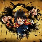 One piece Luffy by Dionissis5