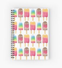 Watercolour POPsicles Spiral Notebook