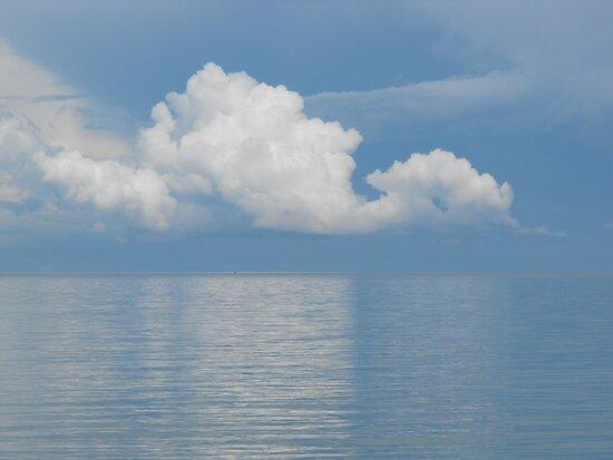 Clouds Over Georgian Bay by Tracy Wazny