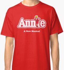 Annie Annie Broadway Musical Show Movie Orphan Film Classic T-Shirt