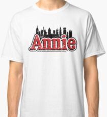 Annie Broadway Musical Show Movie Orphan Film Vintage Distressed Classic T-Shirt