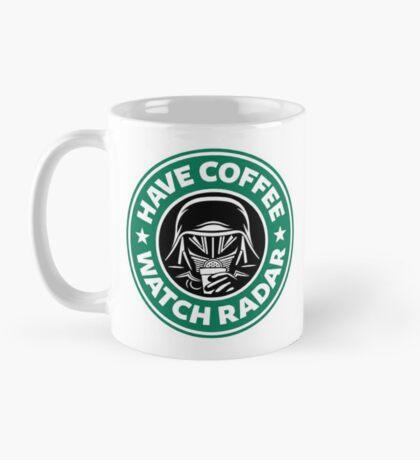 Have Coffee, Watch Radar Mug