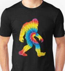 Tie Dye Sasquatch Colorado Bigfoot Colorado Patriotic Unisex T-Shirt