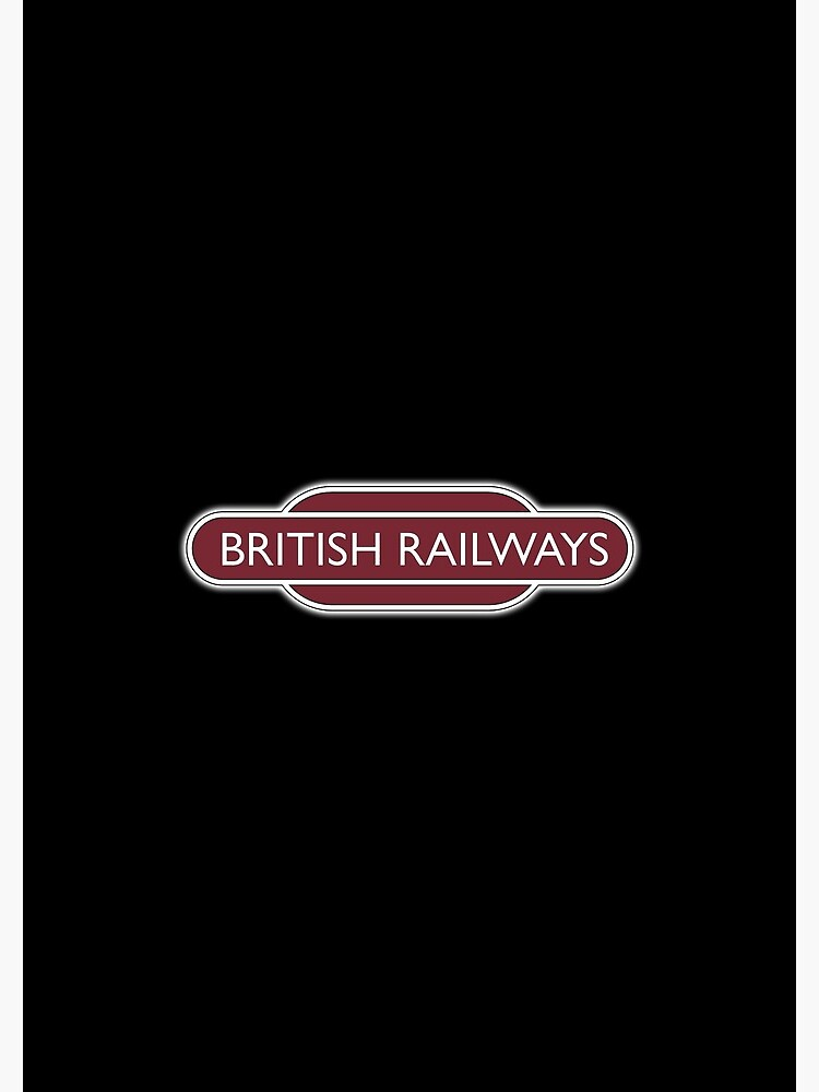 BRITISH RAILWAYS, RAILWAY, BR, Enthusiast, SIGN, Flying Sausage, format,  Train Spotter | Spiral Notebook