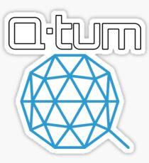 Q-tum QTUM Logo Cryptocurrency Sticker