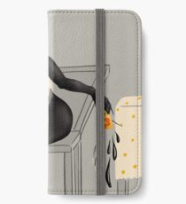 Accident With Knife And Coffee | Creepy Art iPhone Wallet/Case/Skin