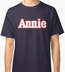 Annie Annie Broadway Musical Show Movie Orphan Film Vintage Classic T-Shirt