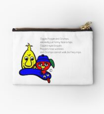 OGGLE, POGGLE AND GRUMPS Poem Studio Pouch