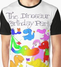 The Dinosaur Birthday Party, The Book of Yawns, Adventure 2 Graphic T-Shirt
