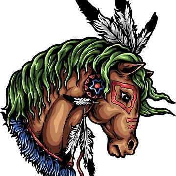Native American Horse by wearitout