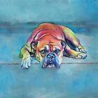 Feeling Blue by Pamela Saville