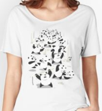 PANDAMONIUM Women's Relaxed Fit T-Shirt
