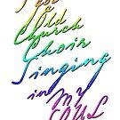 I got an old Church Choir - Rainbow by blessitshop