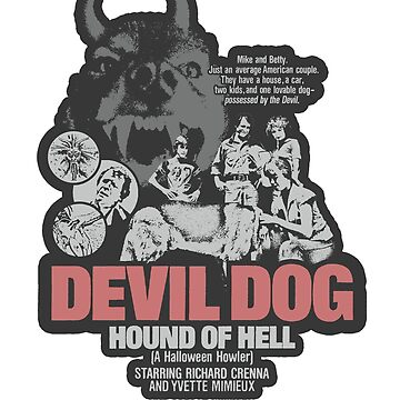 Devil Dog: Hound of Hell (sticker) by A-Game