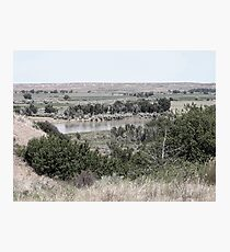 South Dakota Badlands, Harding County Photographic Print