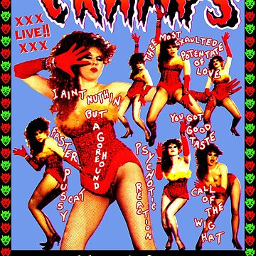 THE CRAMPS Smell Of Female by shnooks