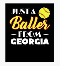 Just A Baller From Georgia Photographic Print