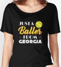 Just A Baller From Georgia Women's Relaxed Fit T-Shirt