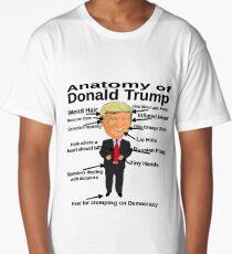 Anatomy of Donald Trump Funny Anti Trump Treason Russia Short-Sleeve Unisex T-Shirt Long T-Shirt
