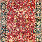 Antique Indo Persian Carpet by Vicky Brago-Mitchell
