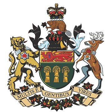 Saskatchewan Coat of Arms by abbeyz71