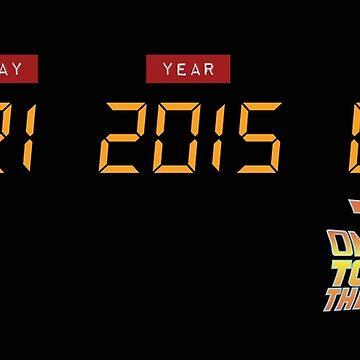 October 21, 2015 in DeLorean Numbers  by humaniteeshirts