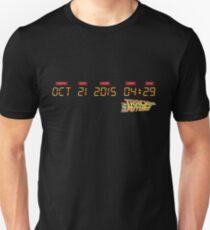 October 21, 2015 in DeLorean Numbers  T-Shirt