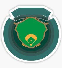 Oakland Coliseum Sticker