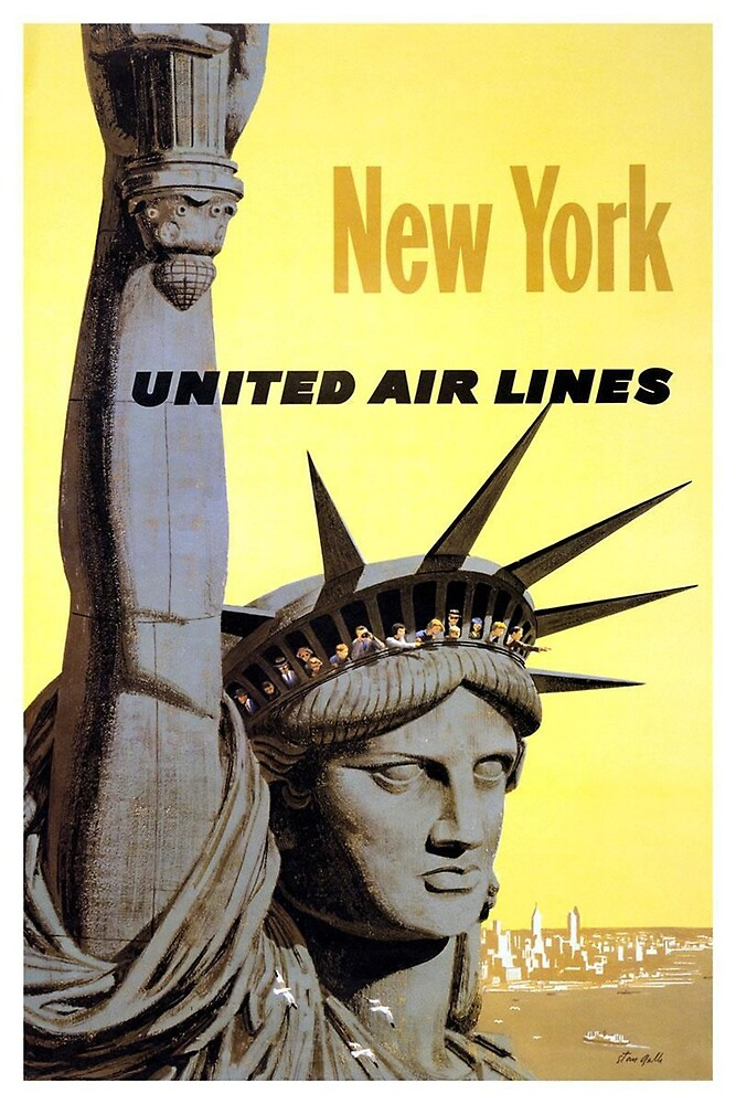 Vintage poster - New York by mosfunky