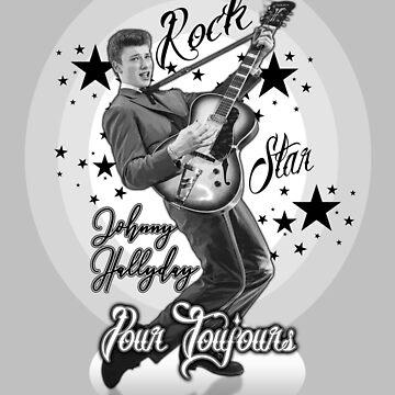 Johnny Hallyday by extracom