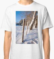Rural winter scene Classic T-Shirt