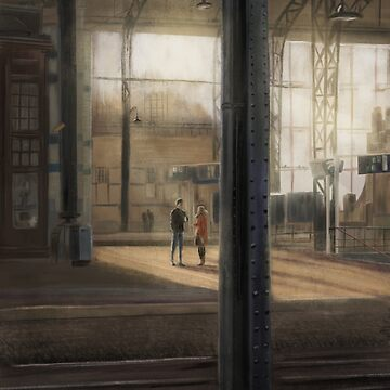 Meeting at the Train Station by Stayf