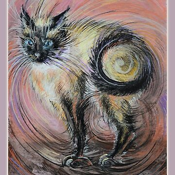 The Cat Called Eve by Lvova