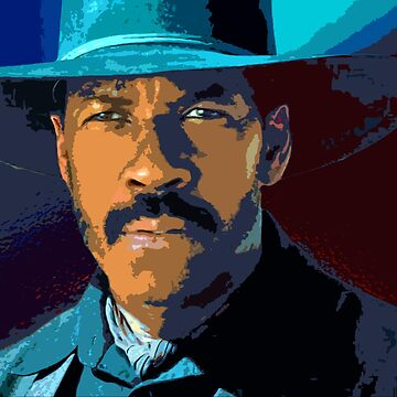 Denzel washington - magnificent 7 by oryan80