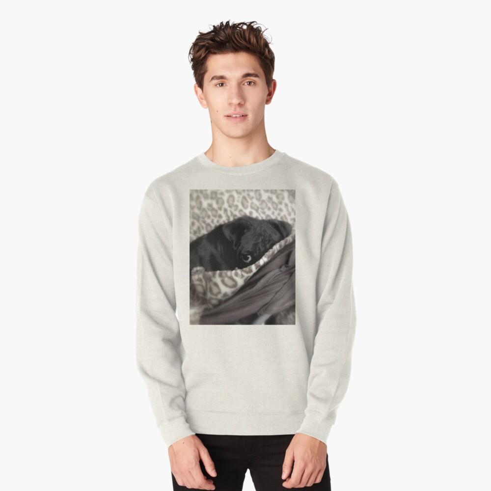 Peek-a-boo Pullover Sweatshirt