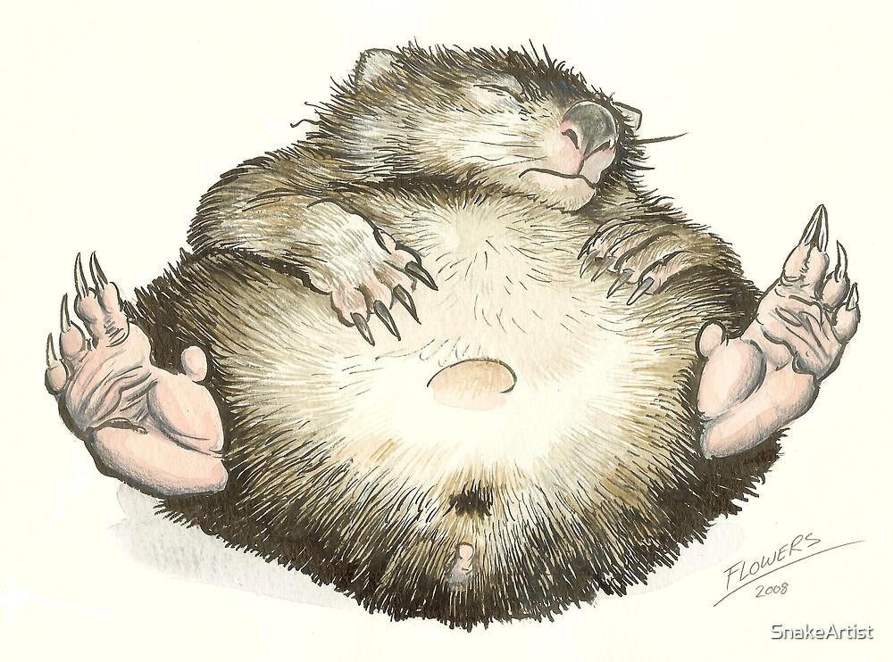 Lazy Wombat by SnakeArtist
