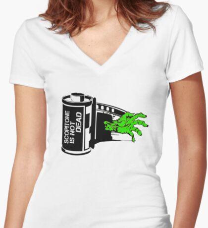 ZOMBIE SCOP' T-shirt col V femme