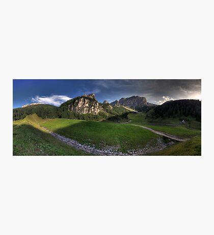 Panoramic Mountains Photographic Print