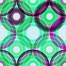 Circles | green and purple  by camcreativedk