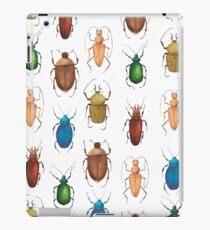 Summer mood. Watercolor tropical bugs iPad Case/Skin