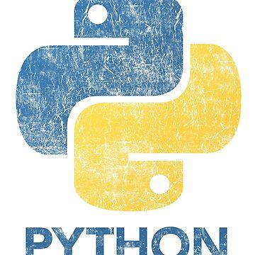 Retro Python Programmer by vladocar