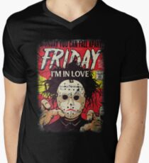 Today Is Friday And Tomorrow Is Weekend Men's V-Neck T-Shirt