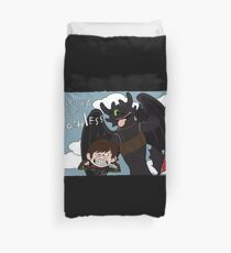 HICCUP & TOOTHLESS Duvet Cover