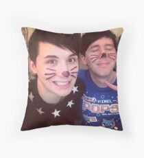 Phil is not on fire 6 selfie  Throw Pillow