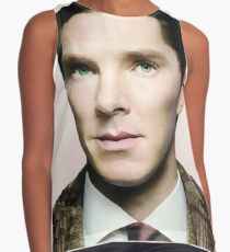 Portrait of Benedict, Oil Painting Style Contrast Tank