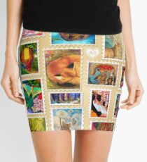 Aimee Stewart Stamp Sampler Mini Skirt