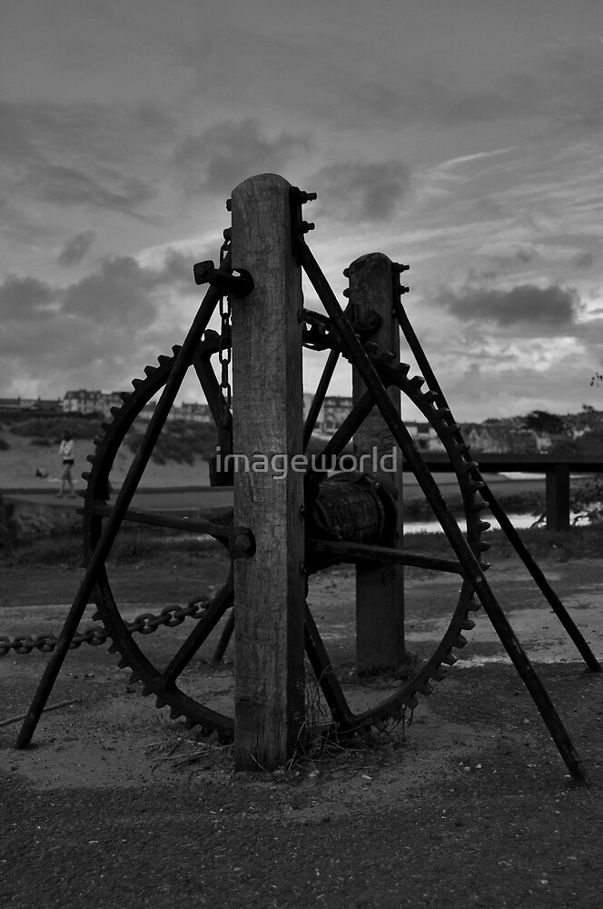Lock Gate Wheel by imageworld