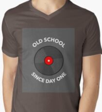 Old School Since Day One Men's V-Neck T-Shirt